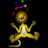 Lion with Black Eye