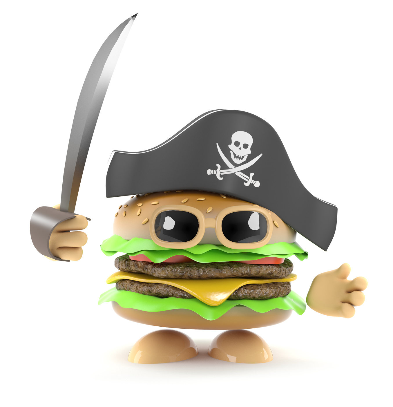 The Burger Pirate By Jack Aged 8 Xtramile Tuition