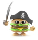 Burger pirate