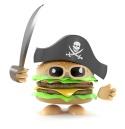 Burger pirate